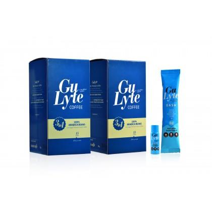 Super-Value Bundle - 2 x GuLyte Coffee + 1 x GuLyte Dash